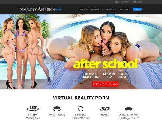 NaughtyAmericaVR The Best VR Porn Site