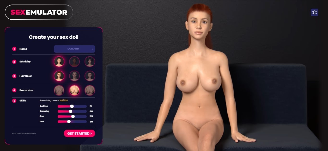 Create Your Virtual Sex Doll