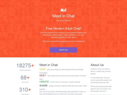 Meet in Chat the Best Sex Chat Site