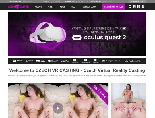 Czech VR The VR Porn Site Filled With Sexy European Girls