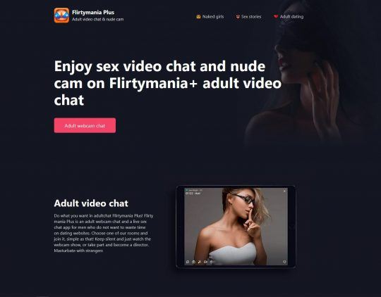 Flirty Mania One of The Fastest Growing Webcam Chat Platforms