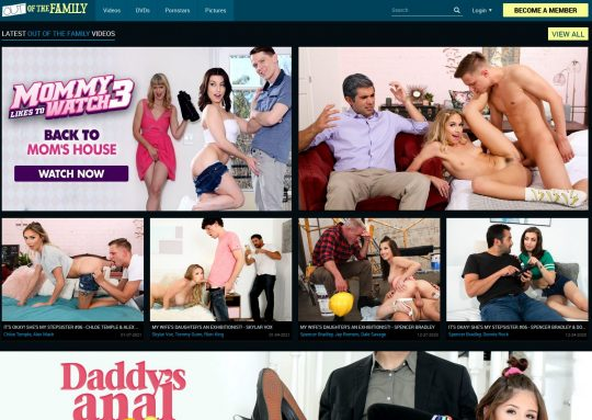 Join OutOfTheFamily Porn Site and Get Access to Over 20 Sites and 18,000 Scenes