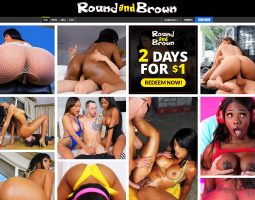 Round and Brown Some of The Best Ebony Premium Porn