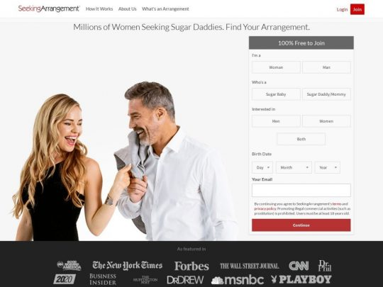 Seeking Arrangement Site Review Find Your SugarMomma or SugarDaddy