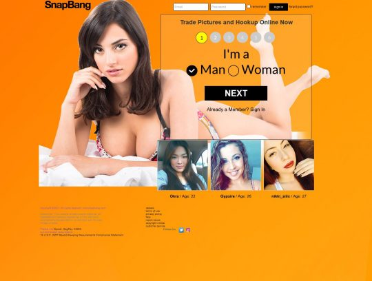 SnapBang Exchange NSFW Pictures With Your Soulmate