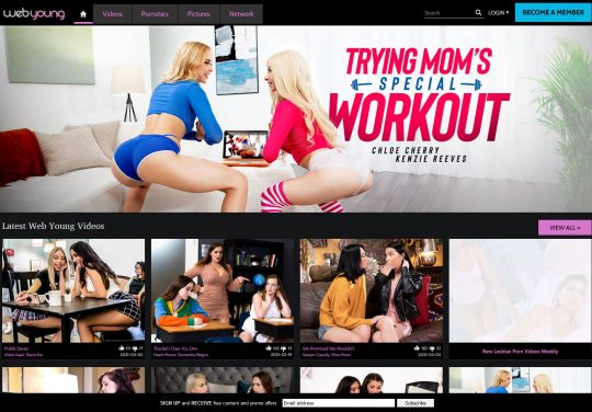 WebYoung Lesbian Porn Site Join and Get Access to Girlsway and AdultTime