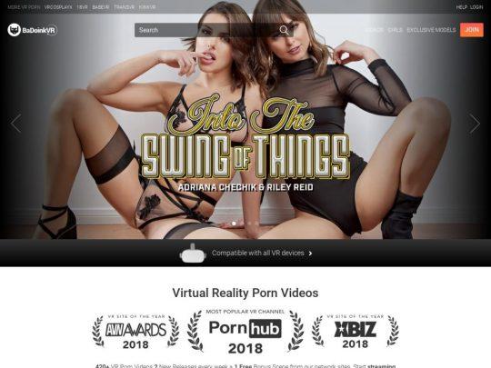BaDoink VR प्रीमियम वीआर पोर्न साइट जिसे आपको अवश्य देखना चाहिए