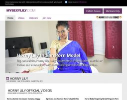 My Sexy Lily - The Indian Porn Models Premium Porn Site Review