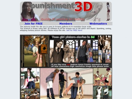 Punishment3D View a Large Amount of Photo Sets of the Best BDSM Hentai