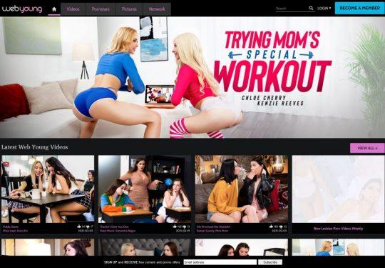 WebYoung लेस्बियन पोर्न साइट में शामिल होने और गर्ल्सवे और एडल्टटाइम तक पहुँच प्राप्त करें