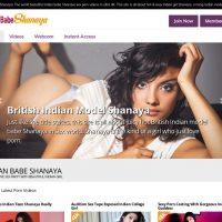 भारतीय बेबे शनाया सेक्सी इंडियन मॉडल 4K पे साइट
