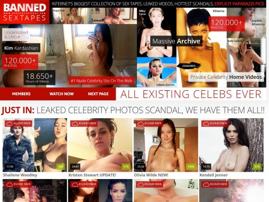 Banned Sex Tapes Watch All the Best Celebrity Sex Tapes