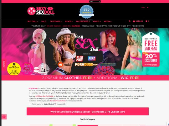 Sexy Sex Doll One of the Leading Sites When It Comes to Realistic Sex Dolls