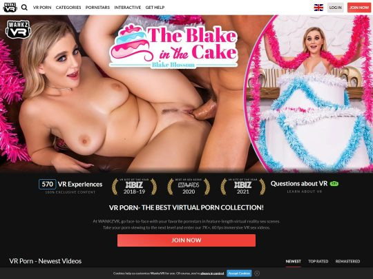 Wankz VR The Premium 4K VR Porn Site That Will Not Dissapoint You